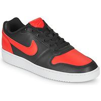 Sko Herre Lave sneakers Nike EBERNON LOW Sort / Rød