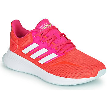 Sko Dame Løbesko adidas Performance RUNFALCON Rød / Pink