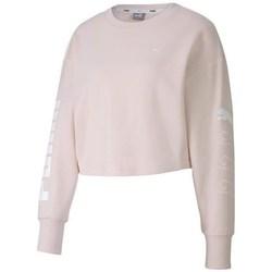 textil Dame Sweatshirts Puma Rebel Crew Sweat TR Pink