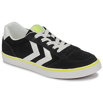 Sko Børn Lave sneakers Hummel STADIL 3.0 JR Sort / Hvid