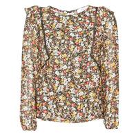 textil Dame Toppe / Bluser Betty London NELIA Sort / Flerfarvet