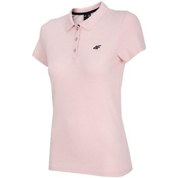 textil Dame Polo-t-shirts m. korte ærmer 4F TSD007 Pink