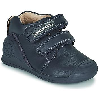 Sko Børn Lave sneakers Biomecanics BOTIN DOS VELCROS Marineblå