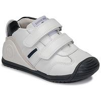 Sko Dreng Lave sneakers Biomecanics BIOGATEO SPORT Hvid