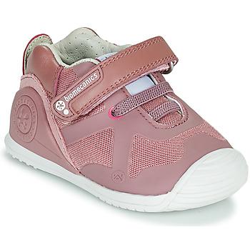 Sko Pige Lave sneakers Biomecanics ZAPATO ELASTICO Pink