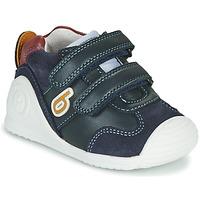 Sko Dreng Lave sneakers Biomecanics ZAPATO SPORT VELCRO Marineblå