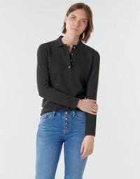 textil Dame Polo-t-shirts m. lange ærmer Lacoste PF5464 Sort