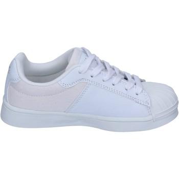 Sko Dreng Sneakers Beverly Hills Polo Club sneakers tessuto pelle sintetica Bianco