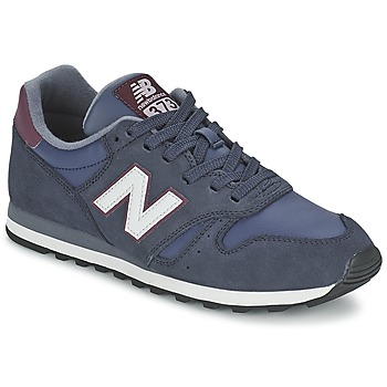 Sko Lave sneakers New Balance ML373 Marineblå / Rød