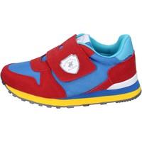 Sko Dreng Sneakers Beverly Hills Polo Club Sneakers BM767 Rød
