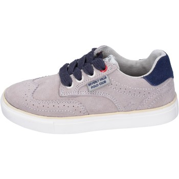 Sko Dreng Sneakers Beverly Hills Polo Club sneakers camoscio Beige