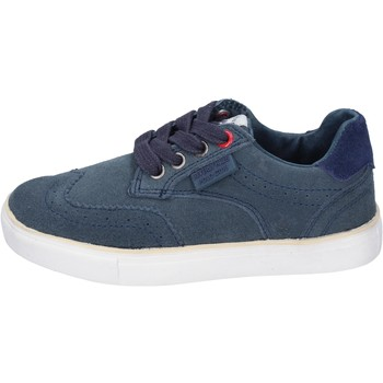 Sko Dreng Sneakers Beverly Hills Polo Club sneakers camoscio Blu