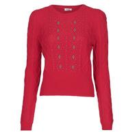 textil Dame Pullovere Liu Jo MF0156-MA88J Rød