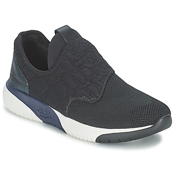 Sko Dame Lave sneakers Ash SODA Sort / Blå