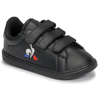 Sko Børn Lave sneakers Le Coq Sportif COURTSET INF Sort