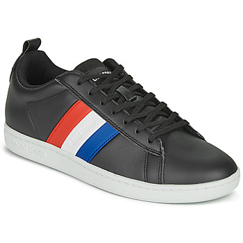 Sko Lave sneakers Le Coq Sportif COURTCLASSIC FLAG Sort