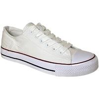 Sko Dame Sneakers Dek  White
