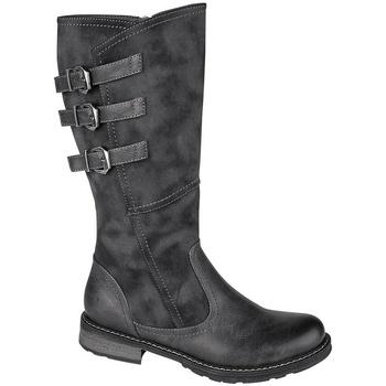 Sko Dame Chikke støvler Cipriata  Black