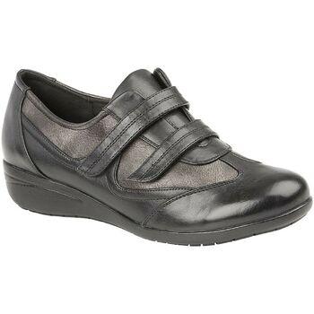 Sko Dame Lave sneakers Boulevard  Black/Pewter