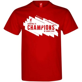 textil Herre T-shirts m. korte ærmer Liverpool Fc  Red