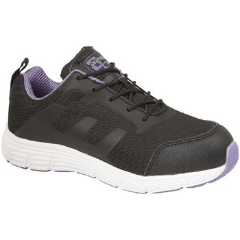 Sko Dame Lave sneakers Grafters  Black/Lilac