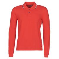 textil Herre Polo-t-shirts m. lange ærmer Casual Attitude NILE Rød