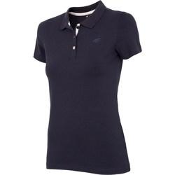 textil Dame T-shirts m. korte ærmer 4F TSD008 Sort