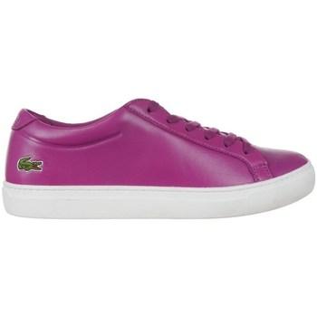 Sko Dame Lave sneakers Lacoste 733CAW1000R56 Lilla