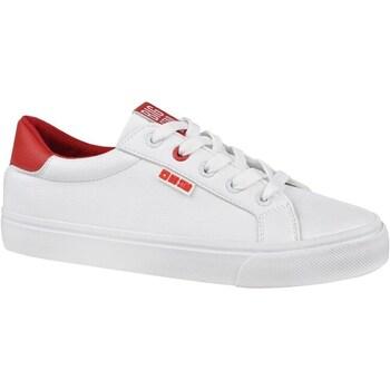 Sko Dame Lave sneakers Big Star EE274311 Hvid,Rød