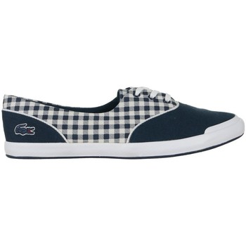 Sko Dame Lave sneakers Lacoste Lancelle Lace 3 Eye 216 1 Spw Hvid,Flåde