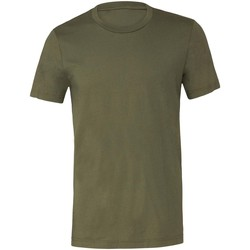 textil T-shirts m. korte ærmer Bella + Canvas CV001 Military Green
