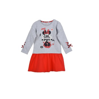 textil Pige Korte kjoler TEAM HEROES DRESS MINNIE Flerfarvet
