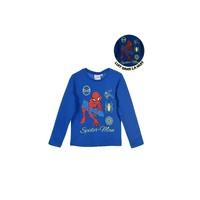 textil Dreng Langærmede T-shirts TEAM HEROES SPIDERMAN Blå