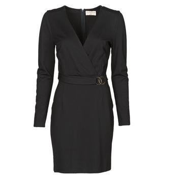 textil Dame Korte kjoler Moony Mood NAMITIE Sort