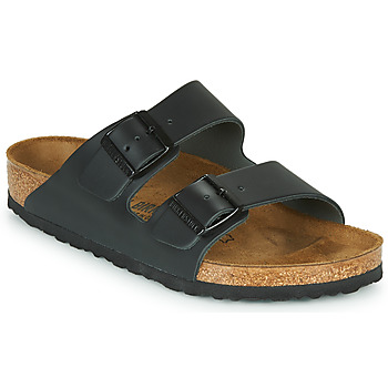 Sko Tøfler Birkenstock ARIZONA LARGE FIT Sort