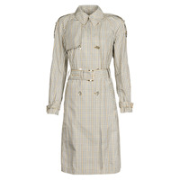 textil Dame Trenchcoats MICHAEL Michael Kors PLAID PACKABLE TRENCH Beige