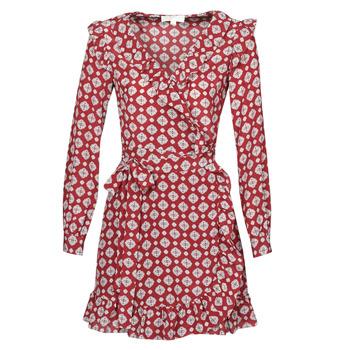 textil Dame Korte kjoler MICHAEL Michael Kors LUX PINDOT WRAP DRS Bordeaux
