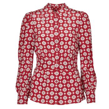 textil Dame Toppe / Bluser MICHAEL Michael Kors LUX PINDOT MED TOP Bordeaux