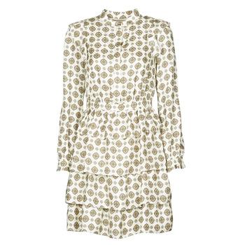 textil Dame Korte kjoler MICHAEL Michael Kors LUX MEDLN PINDOT DRS Beige