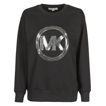 textil Dame Sweatshirts MICHAEL Michael Kors MK CRCL CLSC SWTSHRT Sort