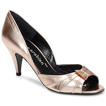 Sko Dame Højhælede sko Karine Arabian MONTEREY Pink / Metal