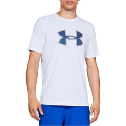 textil Herre T-shirts & poloer Under Armour Big Logo SS Tee 1329583-100 Hvid