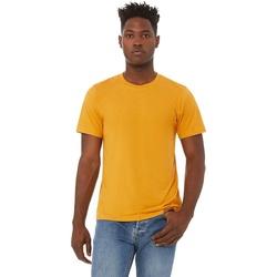 textil Herre T-shirts m. korte ærmer Bella + Canvas CA3413 Mustard Triblend