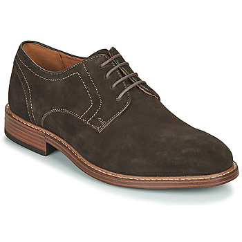 Sko Herre Richelieu Rockport Kenton Plain Toe Bitter Chocolate Sde Brun