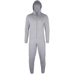 textil Børn Pyjamas / Natskjorte Colortone CC01J Heather Grey