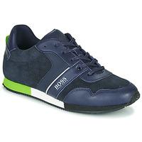 Sko Dreng Lave sneakers BOSS J29225 Blå