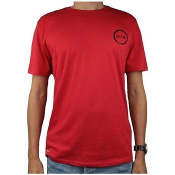 textil Herre T-shirts m. korte ærmer Nike Dry Elite Bball Tee Rød