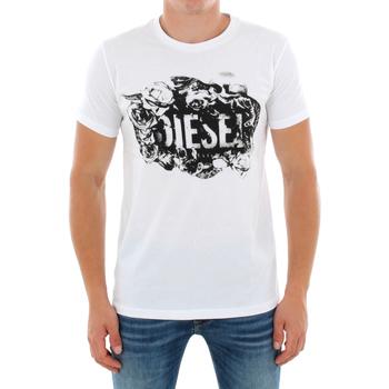 T-shirts m. korte ærmer Diesel  00S8ZP-0W91B 100