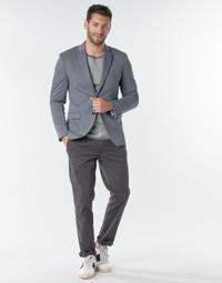 textil Herre Chinos / Gulerodsbukser Selected SLHNEW PARIS Grå