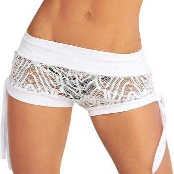 textil Dame Shorts Mapalé 7713 BLANC Hvid